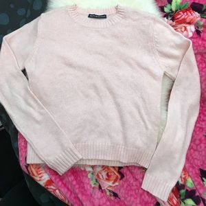 Brandy Melville soft pink sweater. Almost new